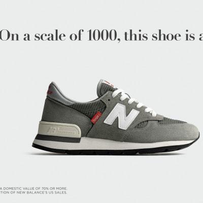 ニューバランス「990v1」