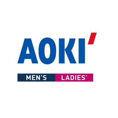 AOKIとメガネスーパーのロゴ