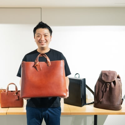 土屋鞄製造所の執行役員 三木芳夫氏